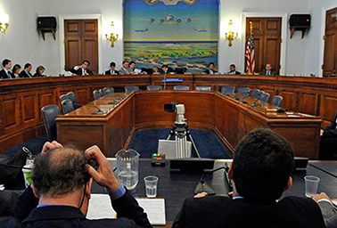 Members of the Select Committee on Energy Independence and Global Warming in Washington, D.C., in 2010. Photo credit: Mary F. Calvert/Contra Costa Times/MCT