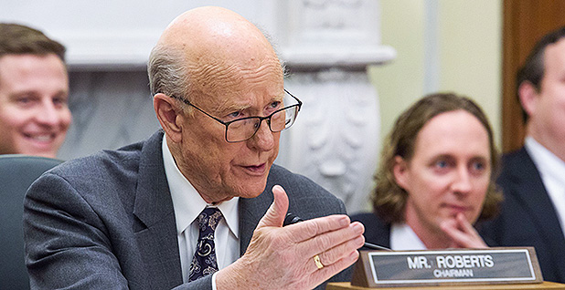Senate Agriculture Chairman Pat Roberts (R-Kan.). Photo credit: U.S. Senate Committee on Agriculture, Nutrition, & Forestry