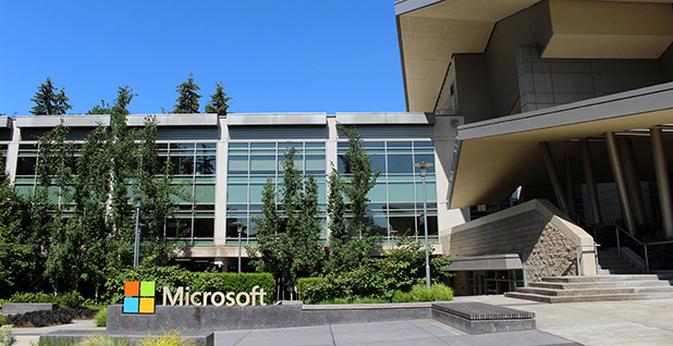 Microsoft headquarters. Photo credit: Coolcaesar/Wikimedia Commons