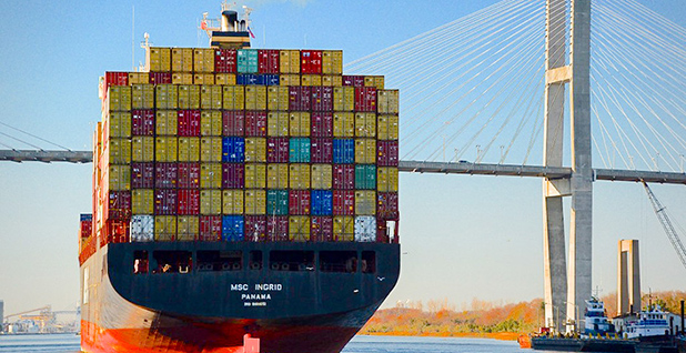 Cargo ship. Photo credit: Tom Driggers/Flickr