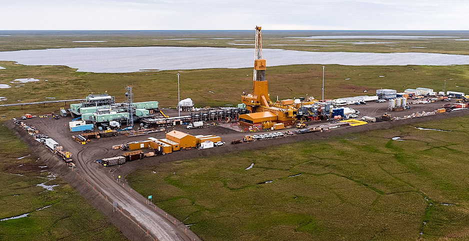 ConocoPhillips Alaska's Greater Mooses Tooth 1 project. Photo credit: ConocoPhillips Alaska