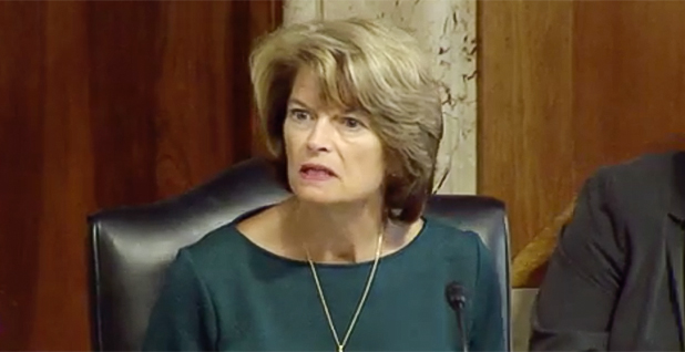 Sen. Lisa Murkowski (R-Alaska). Photo credit: Senate Energy and Natural Resources Committee