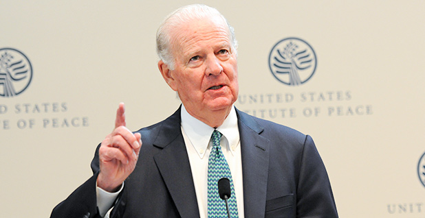 James Baker. Photo credit: United States Institute of Peace