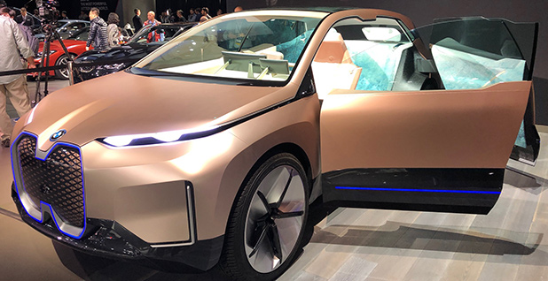 BMW iNext. Photo credit: David Ferris/E&E News
