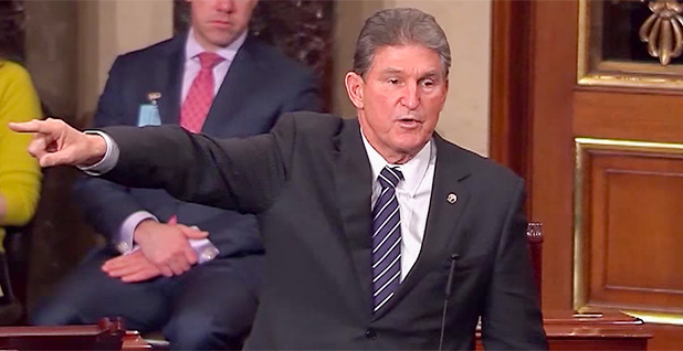 Joe Manchin. Photo credit: C-SPAN