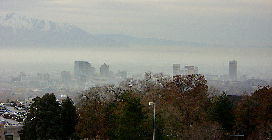 Smog over Salt Lake City. Photo credit: Aaron Gustafson/Flickr