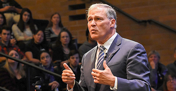 Washington Gov. Jay Inslee. Photo credit: Jay Inslee/Flickr