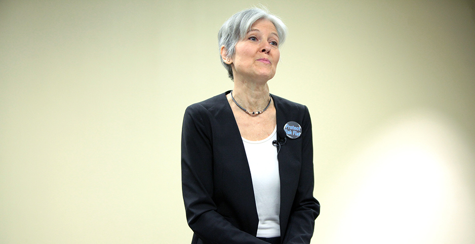 Jill Stein of the Green Party. Photo credit: Gage Skidmore/Flickr
