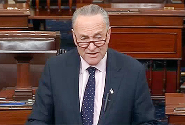 Chuck Schumer. Photo credit: C-SPAN