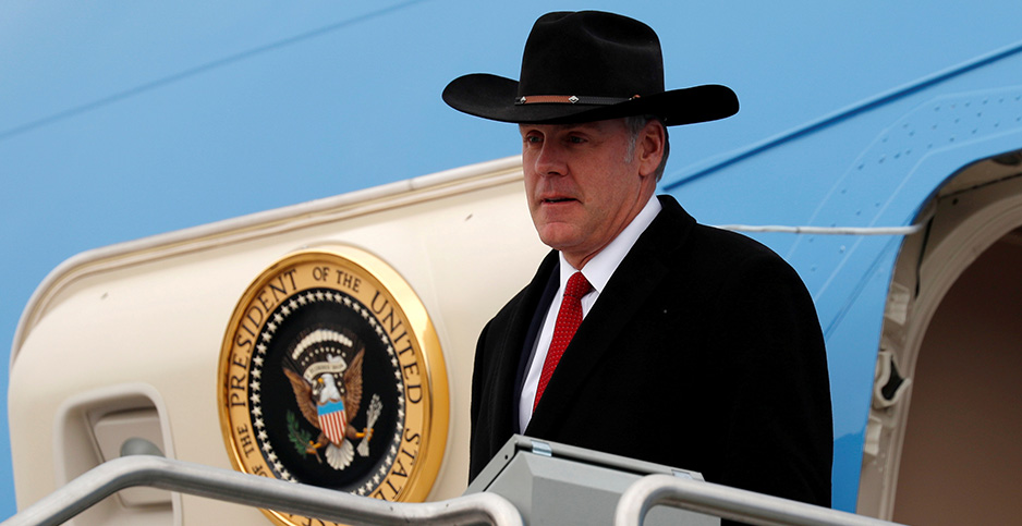 Ryan Zinke. Photo credit: Kevin Lamarque/Reuters/Newscom