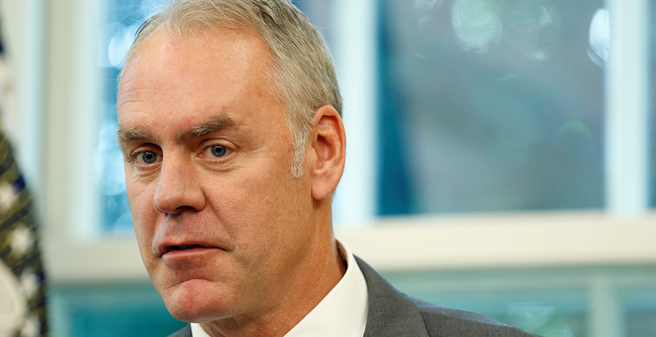 Ryan Zinke. Photo credit: Joshua Roberts/Reuters/Newscom