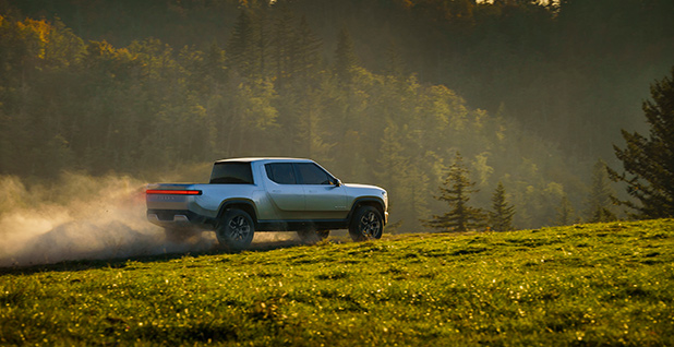 Rivian electric truck. Photo credit: Rivian