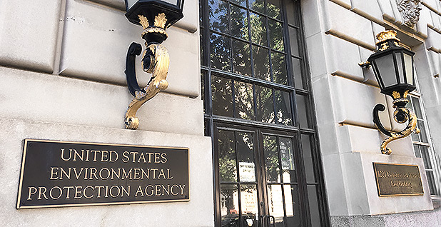 EPA headquarters in Washington. Photo credit: Robin Bravender/E&E News