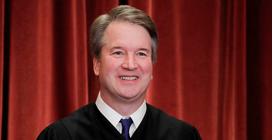 Brett Kavanaugh. Photo credit: Jim Young/Reuters/Newscom