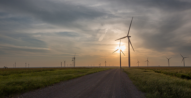 Osage Wind project . Photo credit: Tradewind Energy