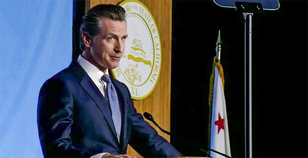 California Gov. Gavin Newsom (D). Photo credit: @GavinNewsom/Twitter