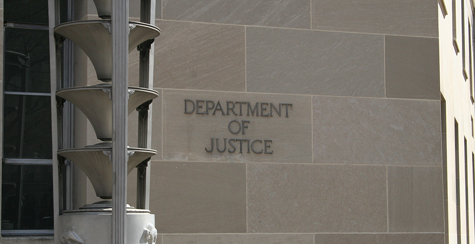 Department of Justice headquarters. Photo credit: Scott/Flickr