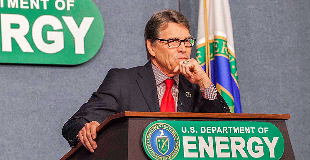 Energy Secretary Rick Perry. Photo credit: Simon Edelman/DOE