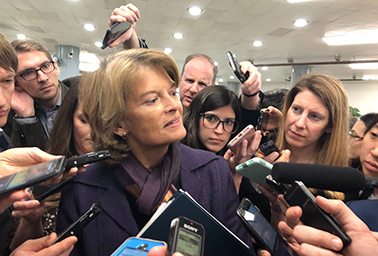 Sen. Lisa Murkowski (R-Alaska). Photo credit: Geof Koss/E&E News