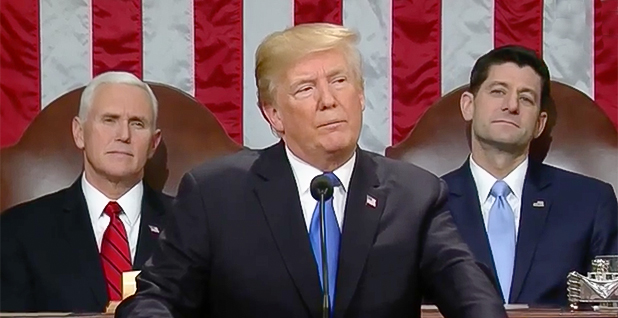 President Trump. Photo credit: C-SPAN