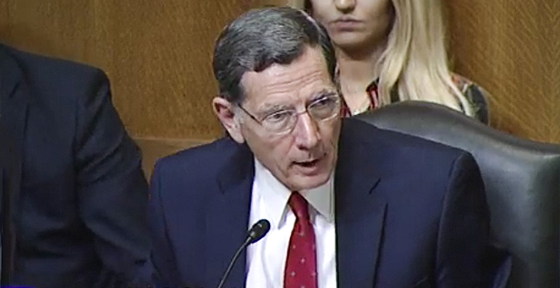 Sen. John Barrasso (R-Wyo.). Photo credit: Senate Environment and Public Works Committee