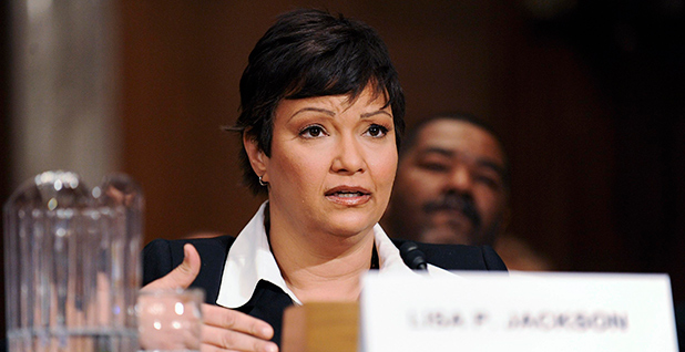 Lisa Jackson at a hearing. Photo credit: Jonathan Ernst/Reuters/Newscom