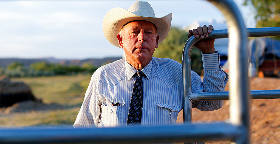 Cliven Bundy. Photo credit: Mike Blake/Reuters/Newscom