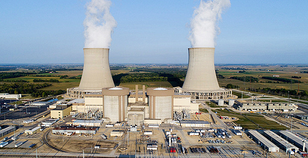 Illinois nuclear plant. Photo credit: Exelon Corp.