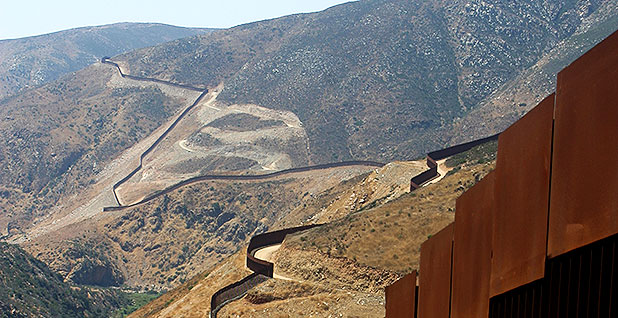 US Border wall. photo credit: Scott Nicol/Sierra Club