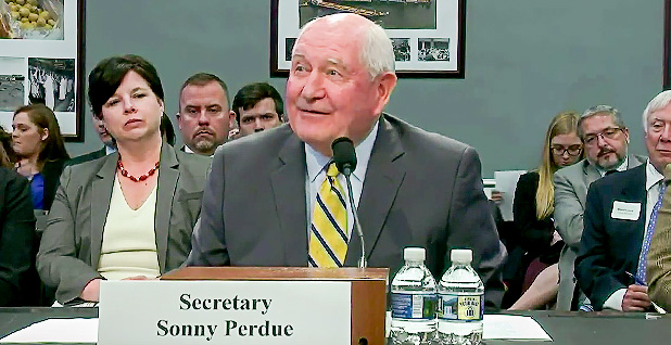 Sonny Perdue. Photo credit: House Appropriations Committee/YouTube