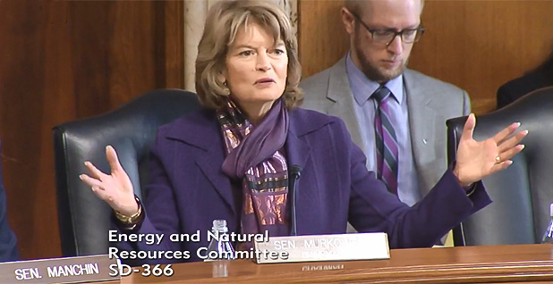 Sen. Lisa Murkowski (R-Alaska). Photo credit: Energy and Natural Resources Committee/Facebook