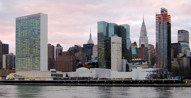 United Nations Headquarters building. Photo credit: Neptuul/Wikipedia