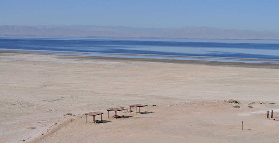 The Salton Sea. Photo credit: Jeremy P. Jacobs/E&E News.