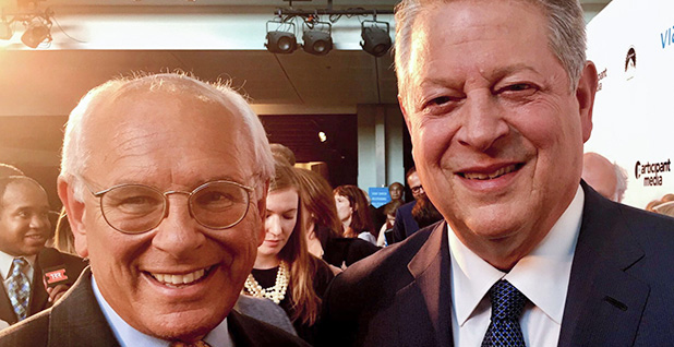 Rep. Paul Tonko (D-N.Y.) pictured with former Vice President Al Gore. Photo credit: Paul Tonko/Facebook