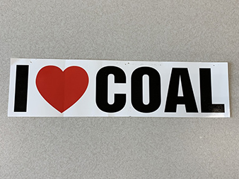 Bumper sticker. Photo credit: Patti Poppe