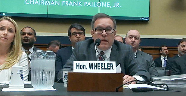 Andrew Wheeler. Photo credit: House Energy and Commerce Committee