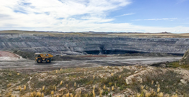 Powder River Basin coal. Photo credit: Pamela King/E&E News