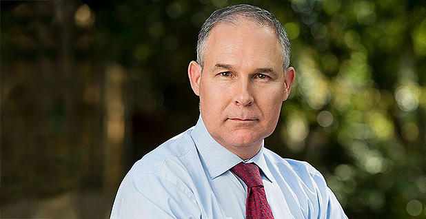 Scott Pruitt. Photo credit: Scott Pruitt/Facebook