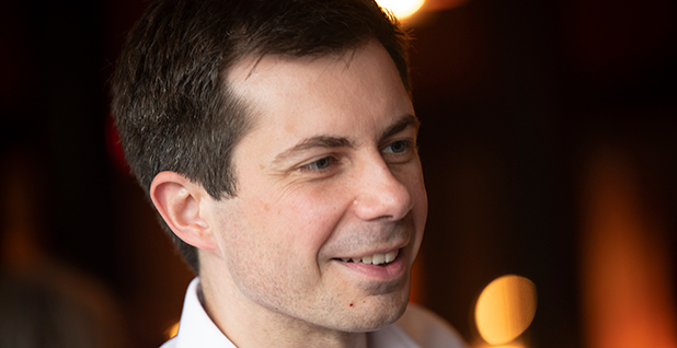 Pete Buttigieg. Photo credit: Rick Friedman/Polaris/Newscom