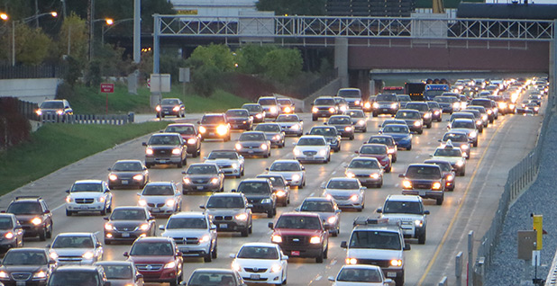 Cars on a highway. Photo credit: David Wilson/Flickr
