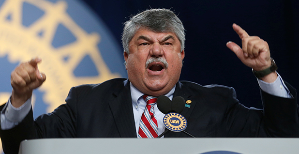 Richard Trumka. Photo credit: Rebecca Cook/Reuters/Newscom