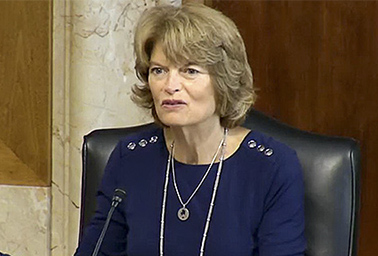 Lisa Murkowski. Photo credit: Senate Energy and Natural Resources Committee