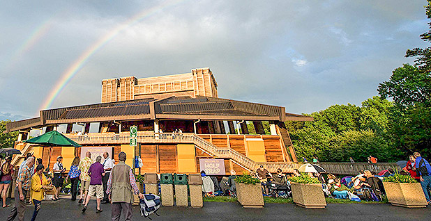Wolf Trap National Park for the Performing Arts in Vienna, Va. Photo credit: @Wolf_Trap/Twitter