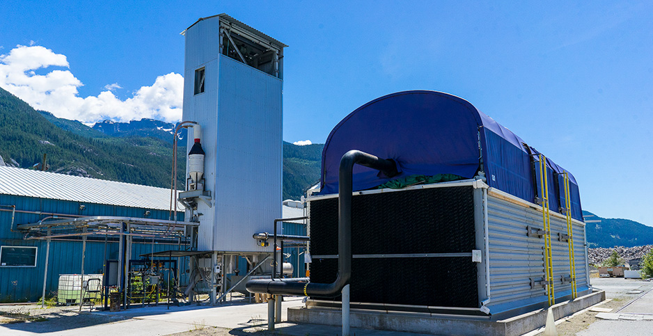 Direct-air capture system. Photo credit:Carbon Engineering
