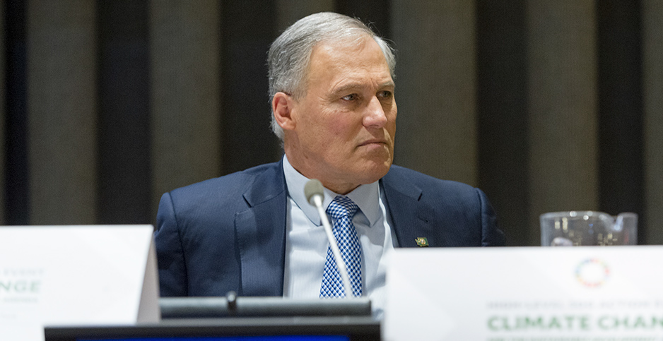 Jay Inslee. Photo credit: Inslee/Flickr