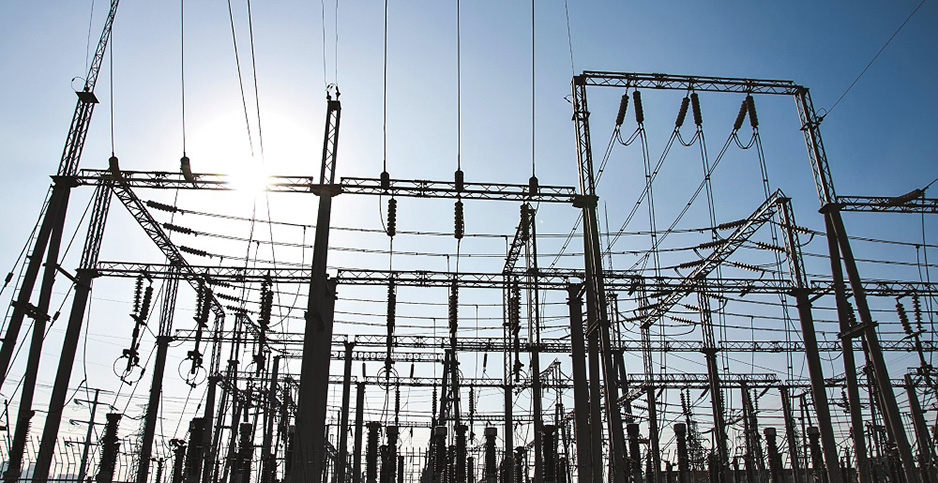 electric grid substation. Photo credit: DOE/Flickr