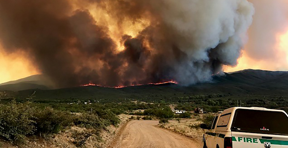 Goodwin fire in Arizona. Photo credit: Forest Service/Flickr