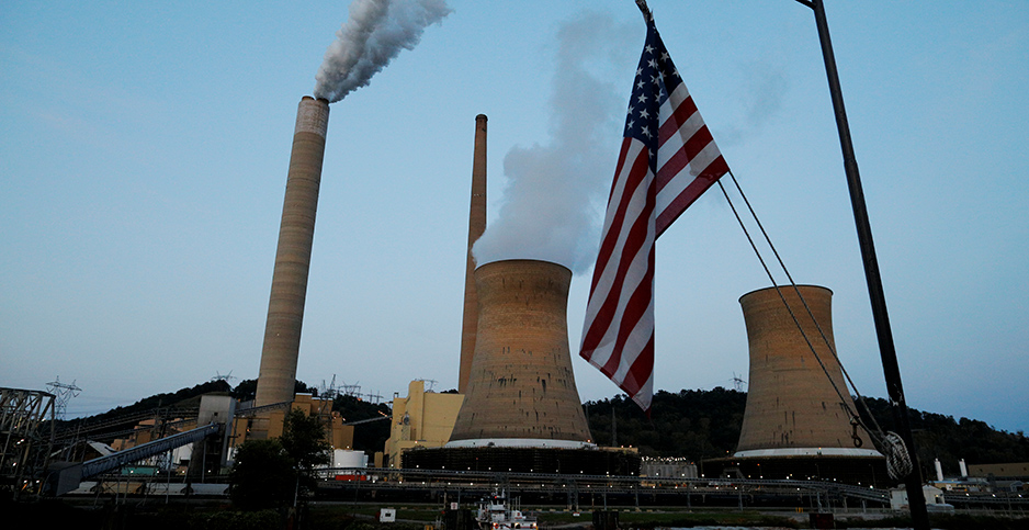 Coal plant. Photo credit: Brian Snyder/Reuters/Newscom
