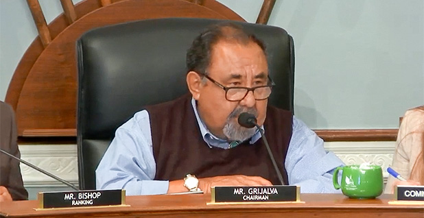 Rep. Raul Grijalva (D-Ariz.). Photo credit: Natural Resources Committee