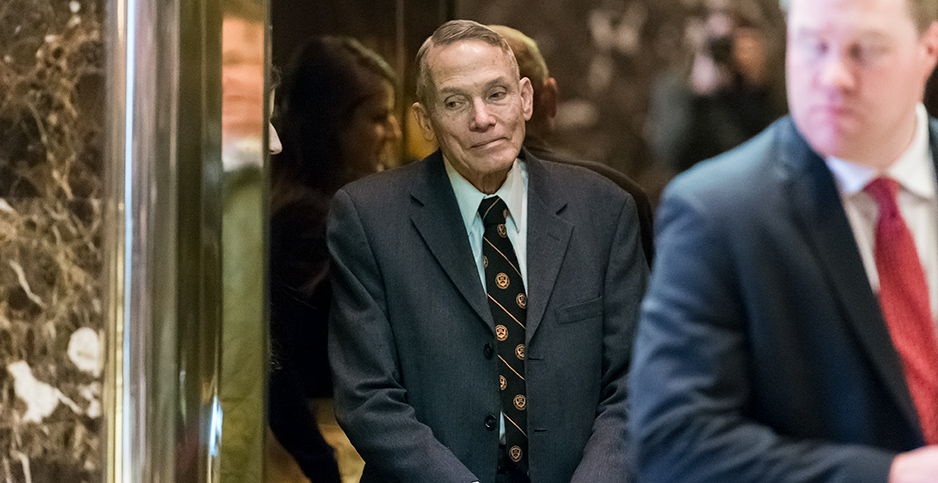 William Happer. Photo credit: Albin Lohr-Jones/CNP/AdMedia